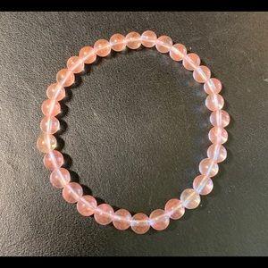 💕Pink Quartz Mindfulness Gems 🌈. Bracelet